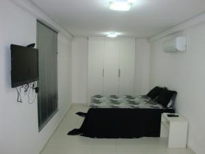 A television and/or entertainment center at Terrazzas Flat