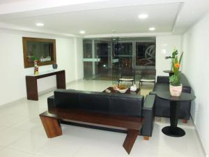 A seating area at Terrazzas Flat