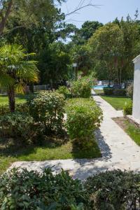 A garden outside A Suara