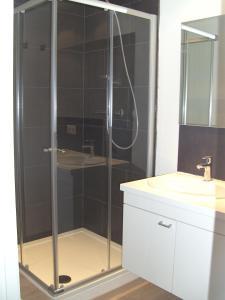 A bathroom at 't Vossenerf