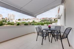 A balcony or terrace at Apartment Roska II.