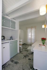 A kitchen or kitchenette at Glaros Studios