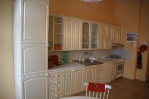 A kitchen or kitchenette at Apartment Losanna