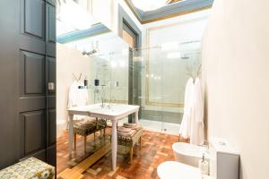 A bathroom at Charm Palace
