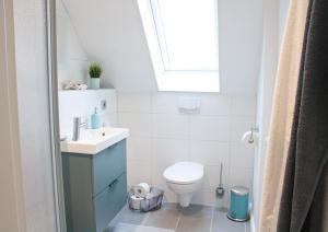 Ein Badezimmer in der Unterkunft Ferienwohnung Amseli