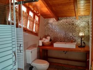 A bathroom at Oresivio