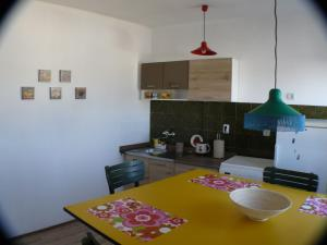 A kitchen or kitchenette at Apartment Panorama
