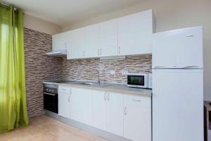 El Fraile tesisinde mutfak veya mini mutfak