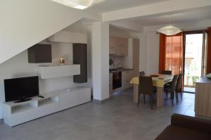 TV o dispositivi per l'intrattenimento presso Borgo Vigata Residence