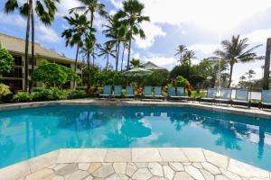 The swimming pool at or near Kauai Beach Villas