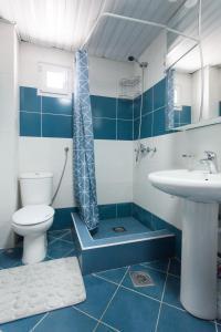 A bathroom at Family Apartments Vidikovac