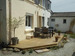 Terrasse ou espace extérieur de l'établissement La mer pour jardin