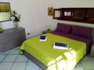 Letto o letti in una camera di Villa Modus Vivendi