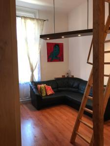 Area soggiorno di Lux Apartman