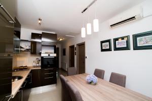 Η κουζίνα ή μικρή κουζίνα στο Casa Ana