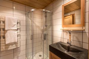 A bathroom at Chalet Solaise 6