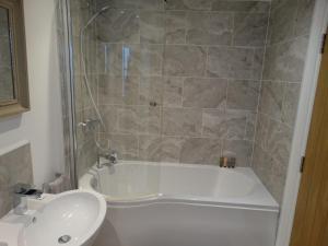 A bathroom at Mount Pleasant