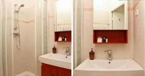 A bathroom at Appartement Champs-Elysées
