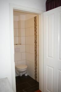 Ein Badezimmer in der Unterkunft Kaiserhof Goldenbek