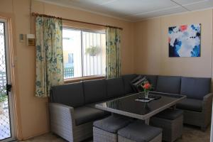 A seating area at Jurien Beachfront Holiday Units