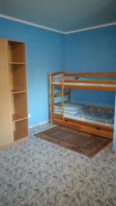 A bunk bed or bunk beds in a room at Sominy Urlop na Kaszubach