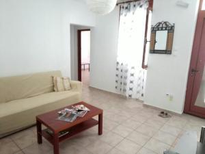 A seating area at Galina Holiday Home