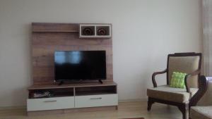 Televizorius ir (arba) pramogų centras apgyvendinimo įstaigoje Akyazı Apart