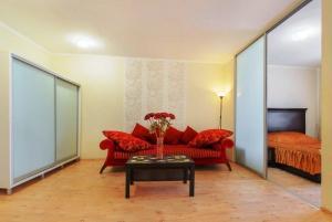 Гостиная зона в Apartment near Fabri on Lenina