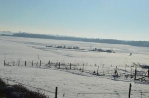 L'établissement Gites de la Costerie en hiver