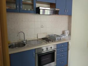 A kitchen or kitchenette at Ravkin
