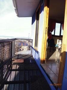 A balcony or terrace at Encantada Apart