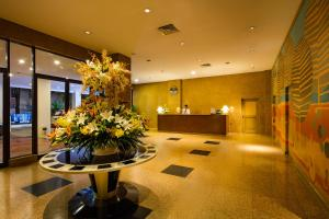 The lobby or reception area at Norfolk Mansion - Luxury Serviced Apartment
