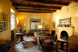Area soggiorno di Casa Visconti