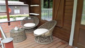 Ein Balkon oder eine Terrasse in der Unterkunft B&B Anna's home