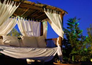 A porch or other outdoor area at Holiday Villa Casa Calma Ibiza