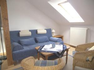 Ein Sitzbereich in der Unterkunft Villa Phoenix Wohnung 10