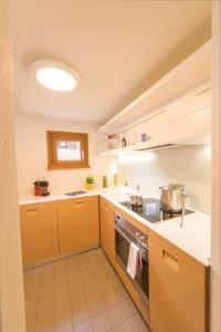 Küche/Küchenzeile in der Unterkunft Chesa Muragl