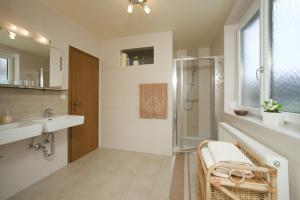 A bathroom at Ferienwohnung Sima