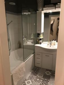 Ein Badezimmer in der Unterkunft Apartment Lakeside