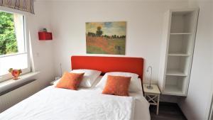 Ein Bett oder Betten in einem Zimmer der Unterkunft Apartment Alleestraße