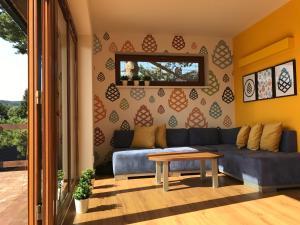 Posezení v ubytování Apartmány Pinie Lipno