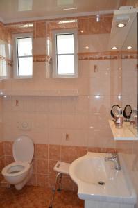 Koupelna v ubytování Apartmán Kamila