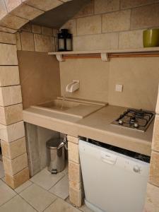 Kuhinja ili čajna kuhinja u objektu Apartments Katarina
