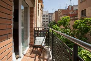 A balcony or terrace at Tendency Apartments Fira