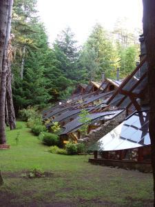 Um jardim em Casa Del Bosque