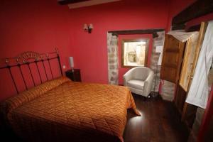 Llit o llits en una habitació de Apartamentos Top Medieval