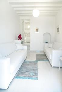 A seating area at Chora House