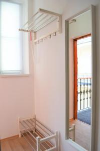 Ein Balkon oder eine Terrasse in der Unterkunft Apartments Soukenická