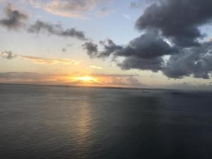 The sunrise or sunset as seen from the aparthotel or nearby