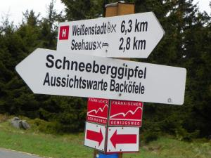 Ein Zertifikat, Auszeichnung, Logo oder anderes Dokument, das in der Unterkunft Ferienwohnung am Weissenstädter See ausgestellt ist